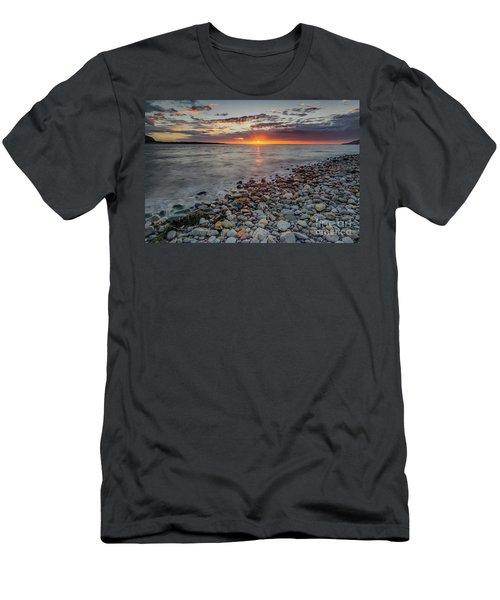 Welsh Sunset  Men's T-Shirt (Athletic Fit)
