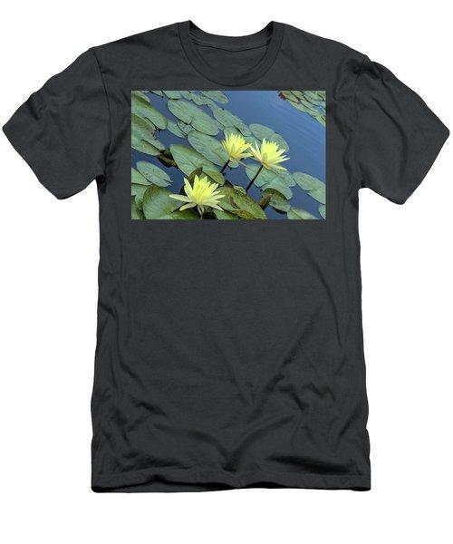 3 Yellow Men's T-Shirt (Athletic Fit)
