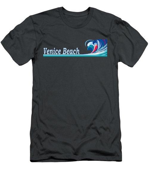 Venice Beach Men's T-Shirt (Athletic Fit)