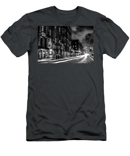 Savannah Georgia Waterfront And Street Scenes  Men's T-Shirt (Athletic Fit)