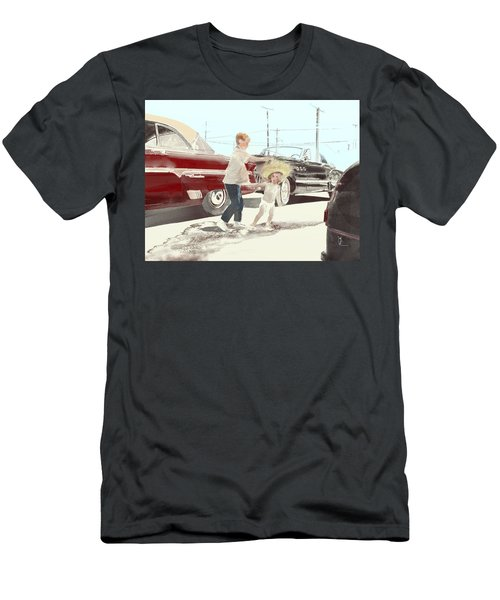 35th St. Palmdale Men's T-Shirt (Athletic Fit)