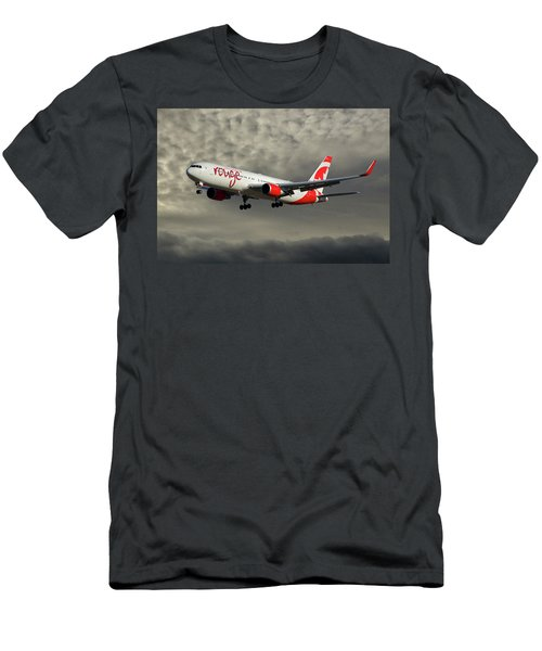Air Canada Rouge Boeing 767-333 116 Men's T-Shirt (Athletic Fit)