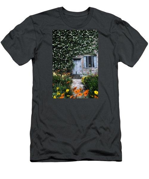 English Cottage Men's T-Shirt (Athletic Fit)