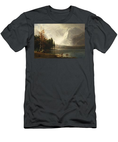 Estes Park, Colorado, Whyte's Lake Men's T-Shirt (Athletic Fit)