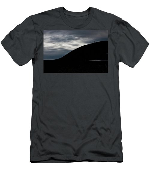 Men's T-Shirt (Slim Fit) featuring the photograph Etna, The Volcano by Bruno Spagnolo