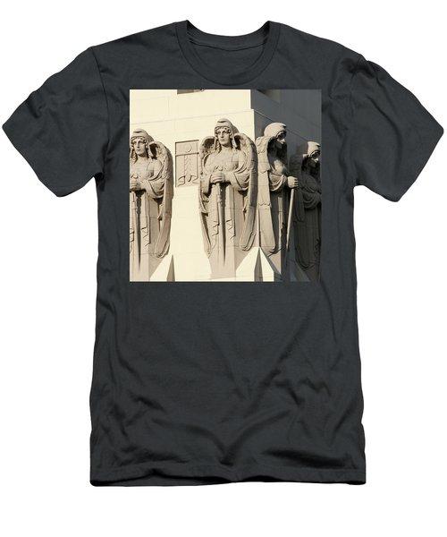 4 Guardian Angels Men's T-Shirt (Athletic Fit)