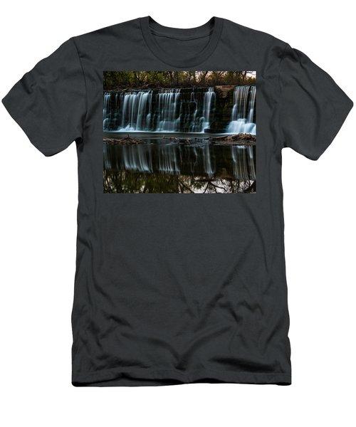 Kansas Waterfall Men's T-Shirt (Athletic Fit)