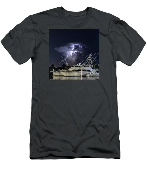 Lightning Men's T-Shirt (Athletic Fit)