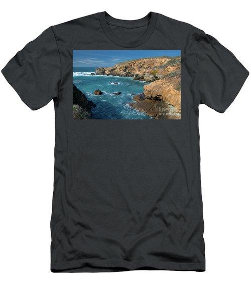 Point Lobos Men's T-Shirt (Slim Fit) by Glenn Franco Simmons