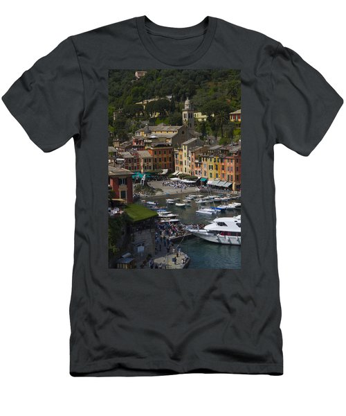 Portofino In The Italian Riviera In Liguria Italy Men's T-Shirt (Athletic Fit)