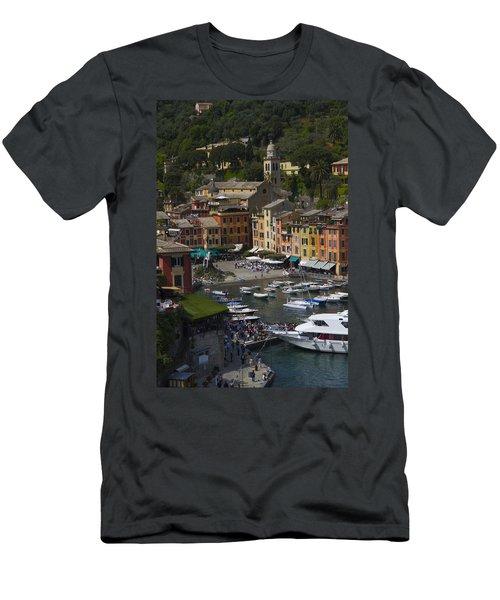 Portofino In The Italian Riviera In Liguria Italy Men's T-Shirt (Athletic Fit)