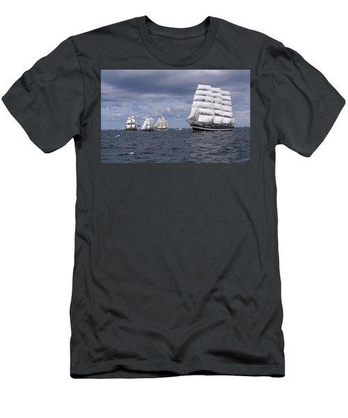 Ship Men's T-Shirt (Athletic Fit)