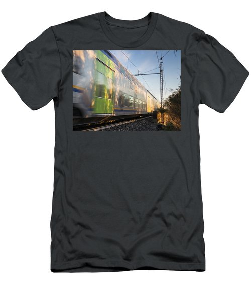 Sunrise In The Ditch Burlamacca Men's T-Shirt (Athletic Fit)