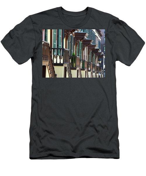 Sylvan Terrace Men's T-Shirt (Athletic Fit)