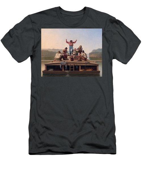 The Jolly Flatboatmen Men's T-Shirt (Athletic Fit)