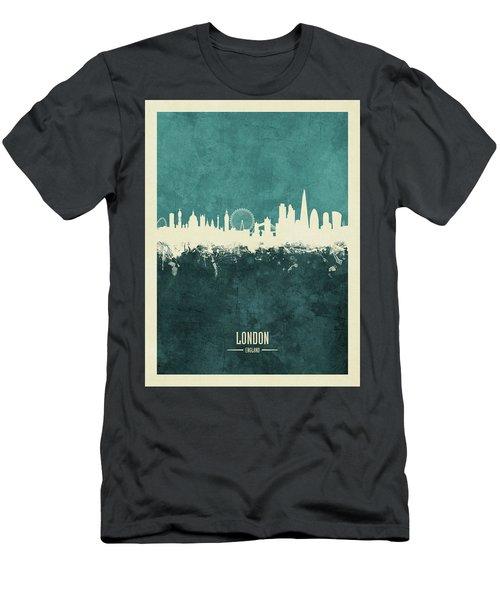 London England Skyline Men's T-Shirt (Athletic Fit)