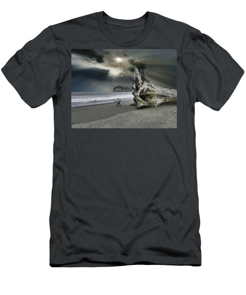 Men's T-Shirt (Slim Fit) featuring the photograph 4392 by Peter Holme III