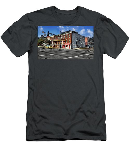 43rd Street And York Road Men's T-Shirt (Athletic Fit)