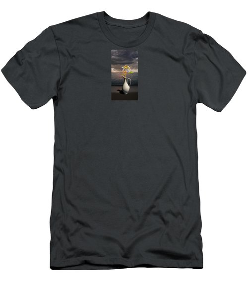 Men's T-Shirt (Slim Fit) featuring the photograph 4416 by Peter Holme III