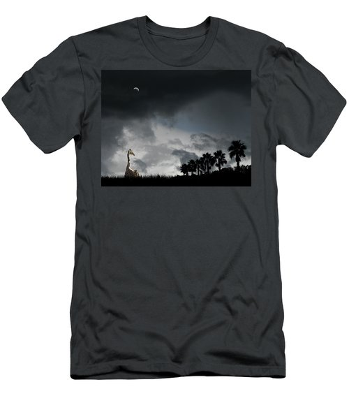 Men's T-Shirt (Athletic Fit) featuring the photograph 4458 by Peter Holme III