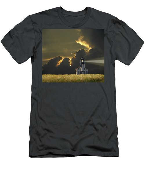 Men's T-Shirt (Athletic Fit) featuring the photograph 4465 by Peter Holme III