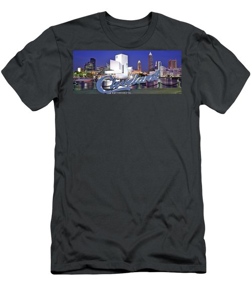 Cleveland Ohio Men's T-Shirt (Athletic Fit)