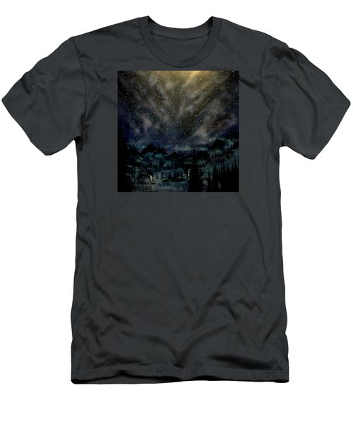 Cosmic Light Series Men's T-Shirt (Athletic Fit)