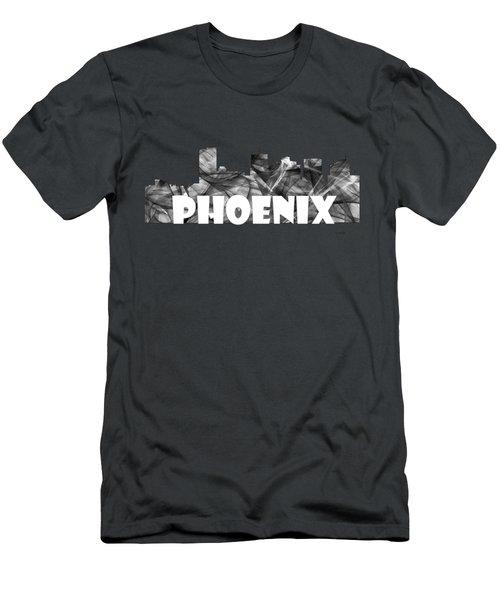 Phoenix Arizona Skyline Men's T-Shirt (Athletic Fit)