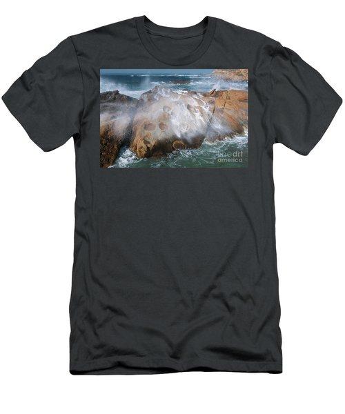 Point Lobos Concretions Men's T-Shirt (Athletic Fit)