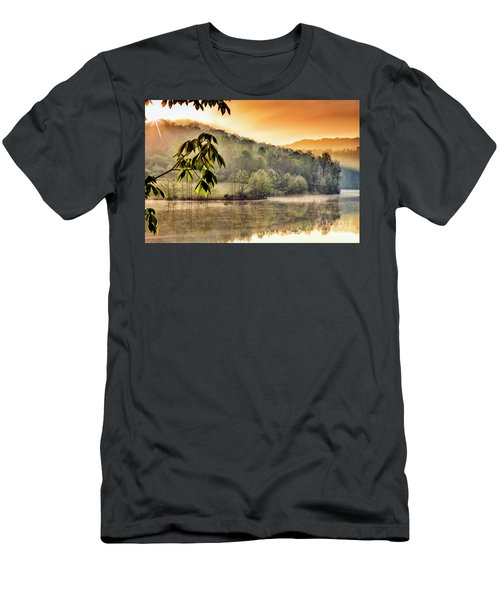 Stonewall Resort Sunrise Men's T-Shirt (Slim Fit) by Thomas R Fletcher