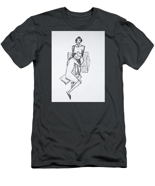 Untitled Men's T-Shirt (Slim Fit) by Tamara Savchenko