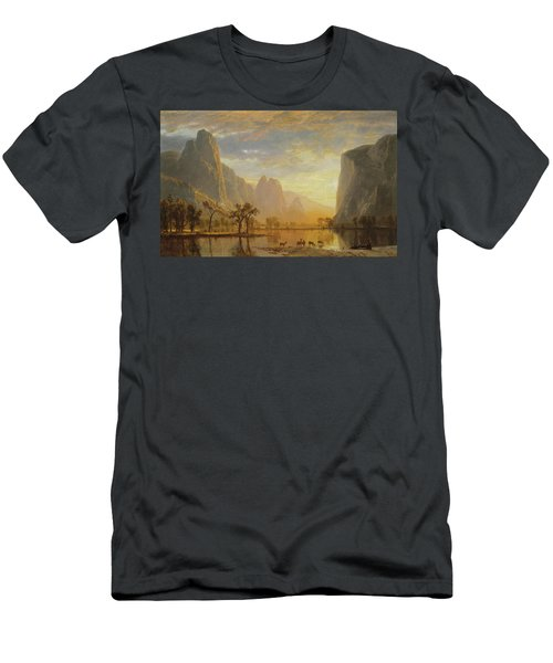Valley Of The Yosemite Men's T-Shirt (Athletic Fit)