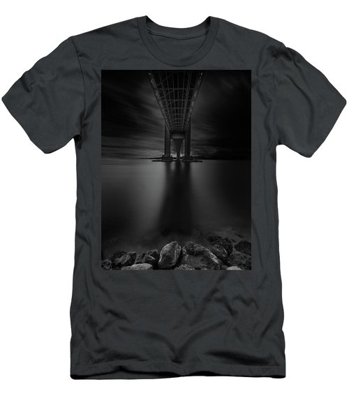 Men's T-Shirt (Athletic Fit) featuring the photograph 50 Shades Of Verrazano by Edgars Erglis