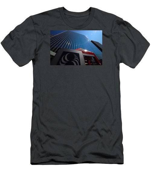 500 Rue Sherbrooke Ouest Men's T-Shirt (Slim Fit) by John Schneider