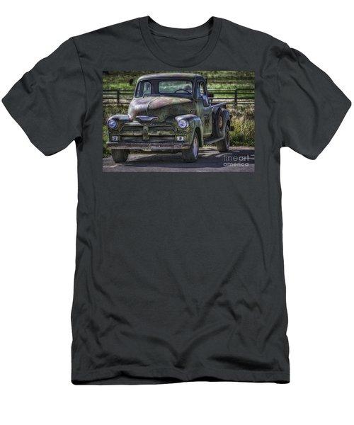 54 Chevy 3600 Stepside Men's T-Shirt (Athletic Fit)