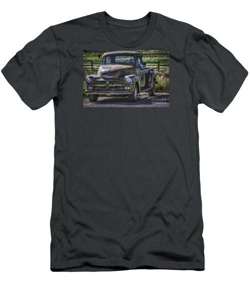 54 Chevy 3600 Stepside Men's T-Shirt (Athletic Fit)
