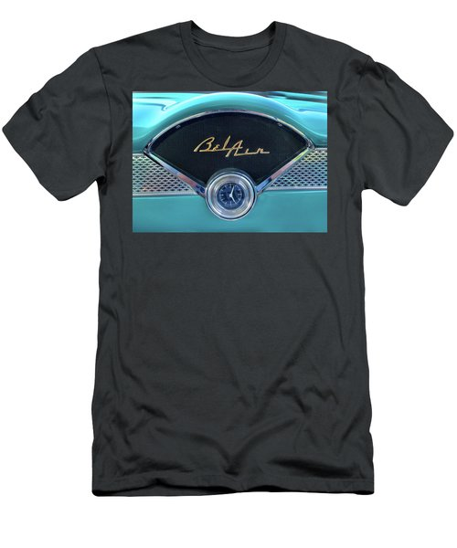 55 Chevy Dash Men's T-Shirt (Athletic Fit)