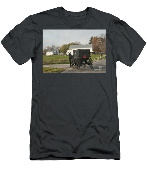 Amish Buggy Men's T-Shirt (Athletic Fit)