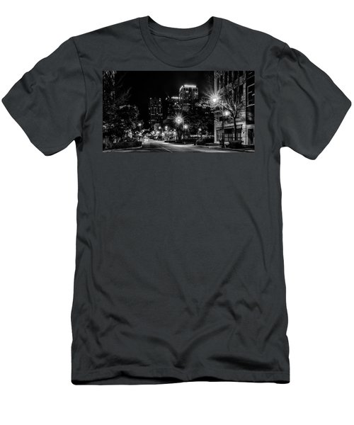 Birmingham Alabama Evening Skyline Men's T-Shirt (Athletic Fit)