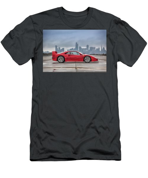 #ferrari #f40 #print Men's T-Shirt (Athletic Fit)