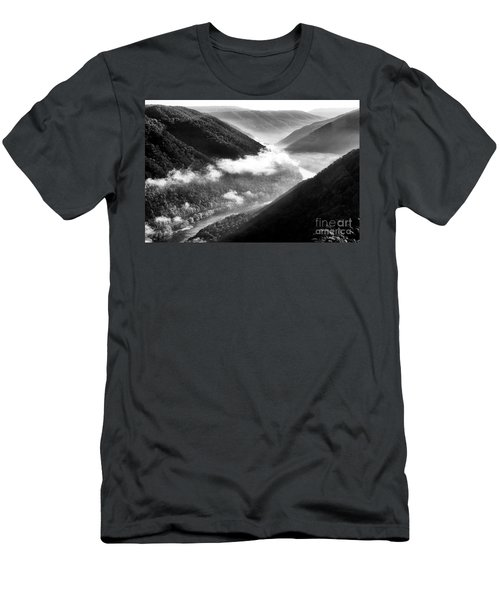 Grandview New River Gorge Men's T-Shirt (Athletic Fit)