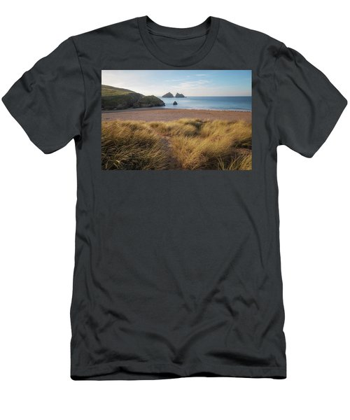 Holywell Bay - Cornwall Men's T-Shirt (Athletic Fit)