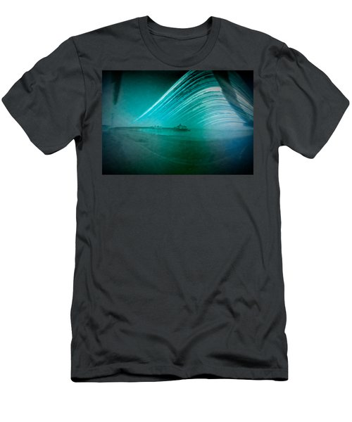 6 Month Exposure Of Eastbourne Pier Men's T-Shirt (Athletic Fit)