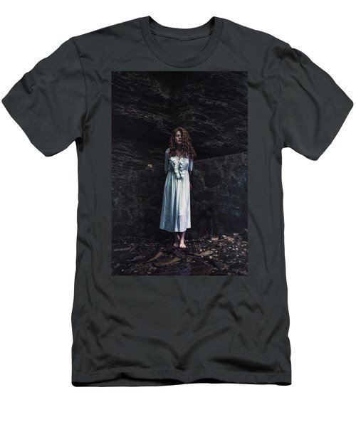 Men's T-Shirt (Slim Fit) featuring the photograph Aretusa by Traven Milovich