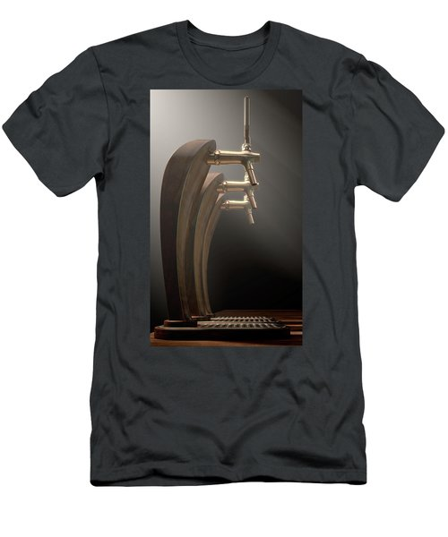 Beer Tap Row Men's T-Shirt (Athletic Fit)