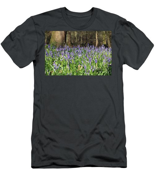 Bluebells At Banstead Wood Surrey Uk Men's T-Shirt (Athletic Fit)