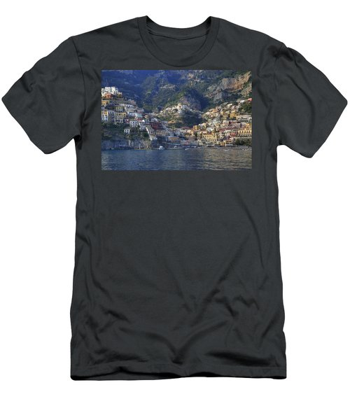 Positano - Amalfi Coast Men's T-Shirt (Athletic Fit)