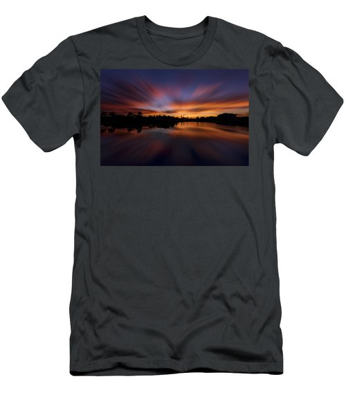 Sunrise At Naples, Florida Men's T-Shirt (Athletic Fit)