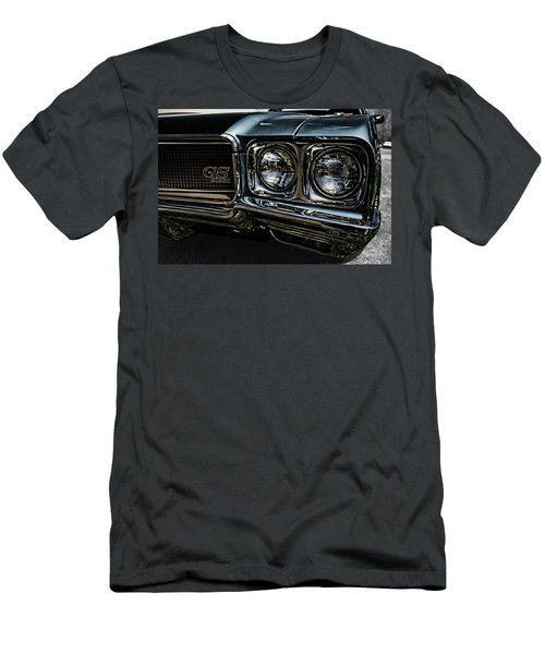 Men's T-Shirt (Athletic Fit) featuring the photograph '70 Buick Gs by Daniel Adams