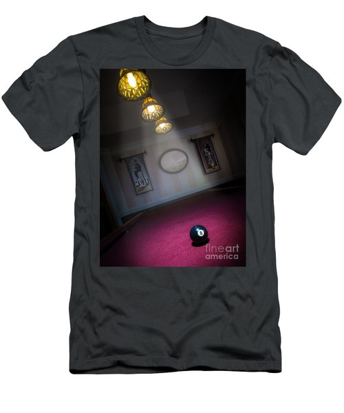 Men's T-Shirt (Slim Fit) featuring the photograph 8 Ball by Brian Jones